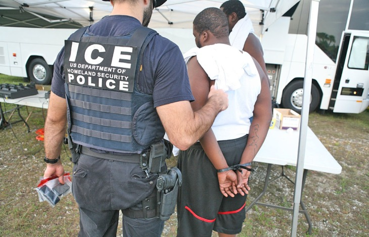 Photo from U.S. Immigration and Customs Enforcement